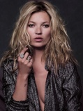 Kate Moss Bedhead Hairstyle