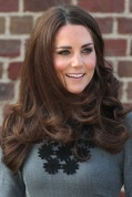 Kate Middleton Blow Dry Hairstyle