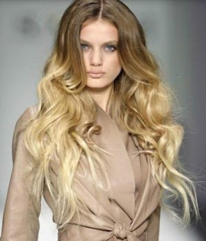 Curled Ends Hairstyle