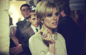 Sienna Miller as Edie Sedgwick  Celebrity Make up Look
